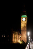 Big Ben Tower by night Royalty Free Stock Photos