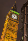 Big Ben tower. At night, London, UK Stock Photo
