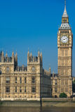 Big Ben Tower in Westminster Royalty Free Stock Photos