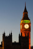 Big Ben Tower and Westminster (London) Royalty Free Stock Image