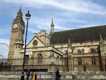 Big Ben towet w Westminister, Londyn Zdjęcie Royalty Free