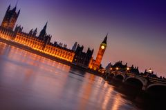 Big Ben Twilight Royalty Free Stock Photo