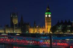 Big Ben at twilight Stock Image