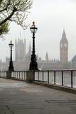 Big Ben u. Häuser des Parlaments Lizenzfreie Stockfotografie