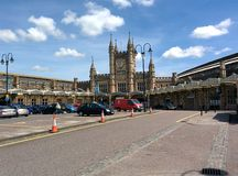 Big ben uk landmark famous place at noon Stock Image
