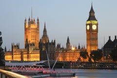 Big Ben und die Häuser des Parlaments Lizenzfreies Stockfoto