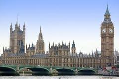 Big Ben und Häuser des Parlaments Stockbild