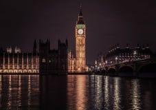 Big Ben und Häuser des Parlaments lizenzfreie stockfotos