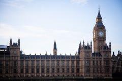 Big Ben und Häuser des Parlaments lizenzfreies stockbild