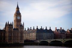 Big Ben und Häuser des Parlaments lizenzfreie stockbilder