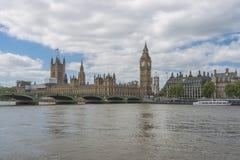 Big Ben und Häuser des Parlaments in London Stockbilder
