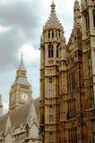 Big Ben und Häuser des Parlaments London Stockbilder