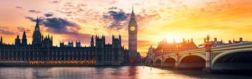 Big Ben und Haus des Parlaments Stockbild