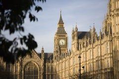 Big Ben und Palast von Westminster Lizenzfreie Stockfotos