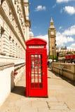 Big Ben und Telefon lizenzfreies stockbild