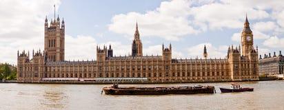Big Ben- und Westminster-Palast Lizenzfreie Stockfotos