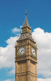 Big Ben Under Blue Sky and White Clouds Stock Photos