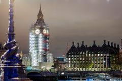 Big Ben under construction, London. UK Stock Photo