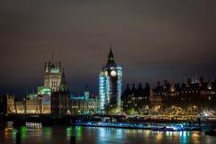 Big Ben under construction, London. UK Royalty Free Stock Photo