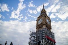 Big Ben Under Construction Stock Photos