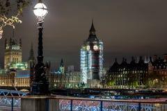 Big Ben under construction, London. UK Stock Image