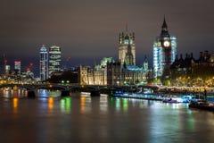 Big Ben under construction, London. UK Stock Photos