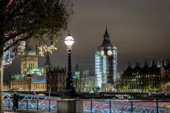 Big Ben under construction, London. UK Royalty Free Stock Images