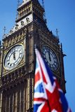 Big Ben and Union Jack Stock Images