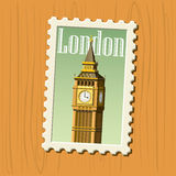 Big Ben vector Royalty Free Stock Image