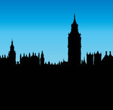 Big Ben. Vector drawing Stock Photo