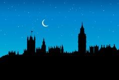 Big Ben. Vector drawing Royalty Free Stock Photo