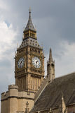 Big Ben. View on Big Ben with sky and cloud Stock Photo