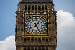 Big Ben. View on Big Ben with sky and cloud Royalty Free Stock Photo