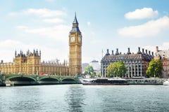 Big Ben w słonecznym dniu, Londyn zdjęcie royalty free