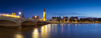 Big Ben, Westminister, domy parlament, Londyn Fotografia Royalty Free