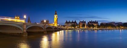 Big Ben, Westminister, domy parlament, Londyn Fotografia Royalty Free