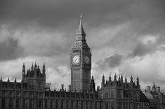 Big Ben and Westminster Abbey Royalty Free Stock Photo