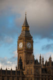 Big Ben and Westminster Abbey Royalty Free Stock Photos