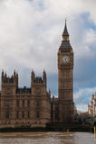 Big Ben and Westminster Abbey Royalty Free Stock Images