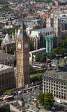 Big Ben and Westminster Abbey London England Royalty Free Stock Image
