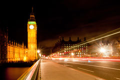 Big Ben from Westminster Bridge Royalty Free Stock Images