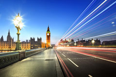Big Ben from Westminster Bridge Stock Images