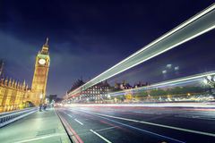 Big Ben from Westminster Bridge Royalty Free Stock Photography