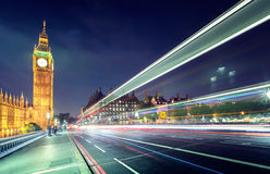 Big Ben from Westminster Bridge, London Royalty Free Stock Photo
