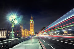 Big Ben from Westminster Bridge, London Stock Photos