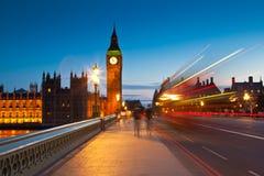 Big Ben, Westminster, Camere del Parlamento, Londra Fotografie Stock Libere da Diritti