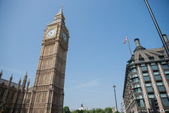 Big Ben, Westminster. Royalty Free Stock Image