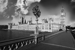 Big Ben in the Westminster, London Stock Photos