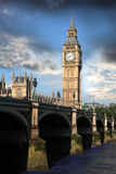 Big Ben in the Westminster, London Royalty Free Stock Photo