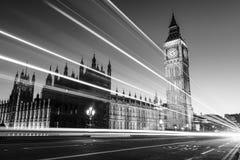 Big Ben in Westminster in London Stockbilder